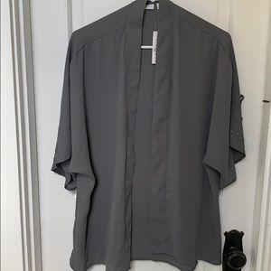 NWT NY&C Grey Kimono